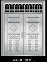 不锈钢门5类花整板门效果图整板门效果图图片